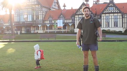 "Kiwi Guy's Guide To ""How To Travel With A Baby"""