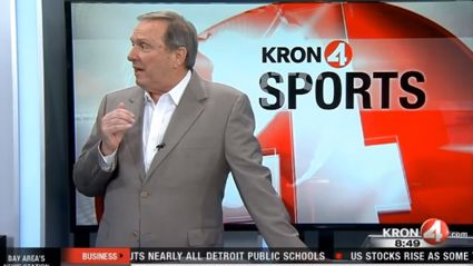 Sports Anchor Loses It When He Doesn't Get To Break The 'Space Jam 2' News