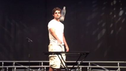 Guy Flips A Water Bottle At Talent Show And It's The Greatest Thing EVER!