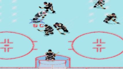NHL 94 Simulation Of The Stanley Cup Winner