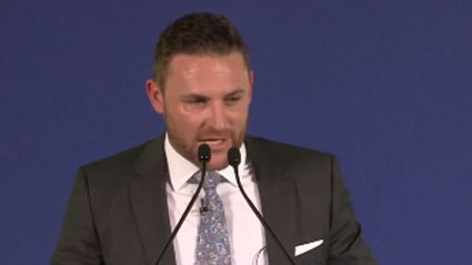Watch Brendon McCullum Deliver The 2016 Spirit Of Cricket Cowdrey Lecture At Lord's