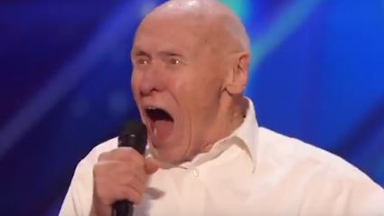 "Watch This 82-Year-Old Crush Drowning Pool's ""Bodies"" On America's Got Talent"