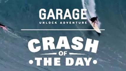 Crash Of The Day: Surf Hawaiian Xtreme Sports Ep 154 Michi Schweiger Jaws Hawaii