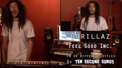 "Gorillaz ""Feel Good Inc"" Ten Second Songs 20 Style Cover"