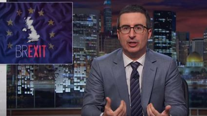 John Oliver's Hilarious Rant On The EU Referendum