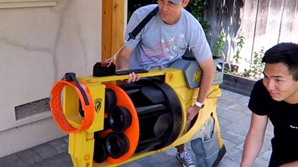 These Guys Built The World's Biggest NERF Gun