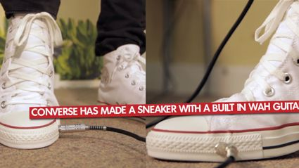 Converse Has Made A Sneaker With A Built In Wah Guitar Pedal