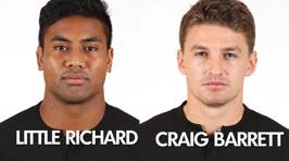 The ACC's Official All Blacks Team Nick Names For The 3rd Test Vs Wales
