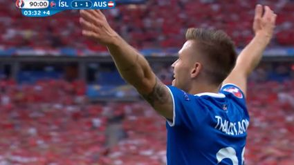 The Icelandic Commentary Of Their Winning Goal Is The Greatest Video You'll See Today