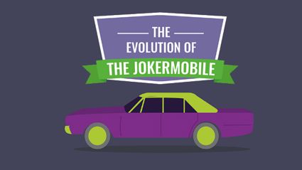The Evolution Of The Jokermobile