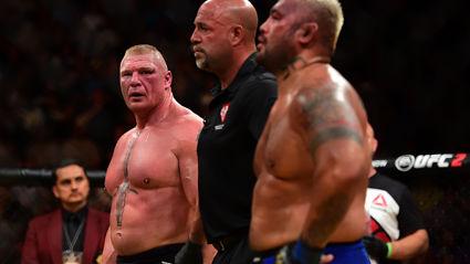 Brock Lesnar Defeats Mark Hunt In Unanimous Decision At UFC 200