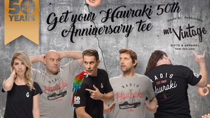 Get Your Hauraki 50th Anniversary Tee