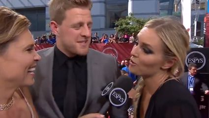 Lindsey Vonn Jokes She Masturbated J.J. Watt Back To Health During ESPYs Red Carpet Interview