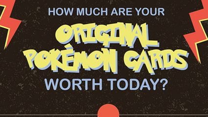 How Much Are Your Original Pokemon Cards Worth Today?