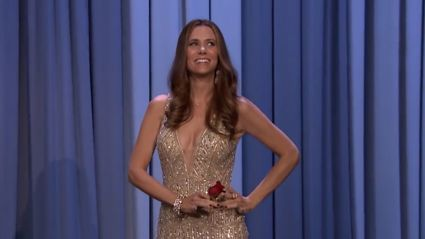 Kristen Wiig Does Hilarious Interview As JoJo From The Bachelorette