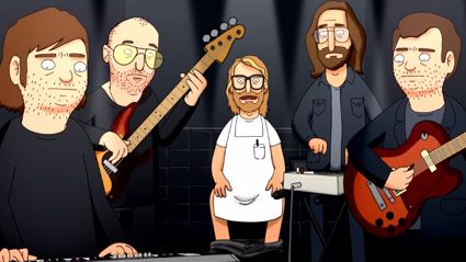 """The National Cover 'Bob's Burger's' Song """"Bad Stuff Happens In The Bathroom"""""""