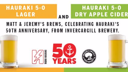 Hauraki Has It's Own Beer & Cider Thanks To Invercargill Brewery