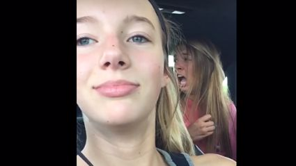 Girl's Slo-Mo Video Ruined By Killer Wasp