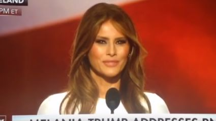 Michelle Obama Wasn't The Only Person Melania Trump Ripped Off In Her Speech