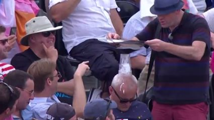Guy Falls Asleep At The Cricket And Gets Roasted By Crowd