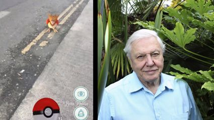 Sir David Attenborough Narrates 'Pokemon GO'