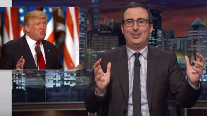 Last Week Tonight With John Oliver Vs The Republican National Convention