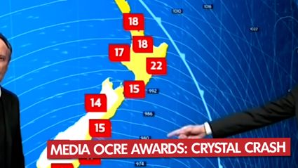 Media Ocre Awards - Crystal Crash
