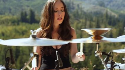 """Epic TOOL """"Forty Six & 2"""" Drum Cover By Super Hot Female Drummer"""
