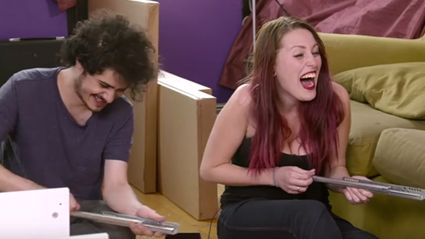 Couple Takes Acid And Then Tries To Put Together A Furniture Flat-Pack