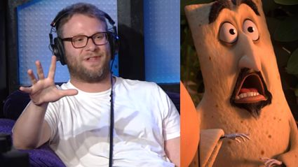 "Seth Rogen Reveals Why He Had To Shave A Pita Bread's ""Ball Sack"""