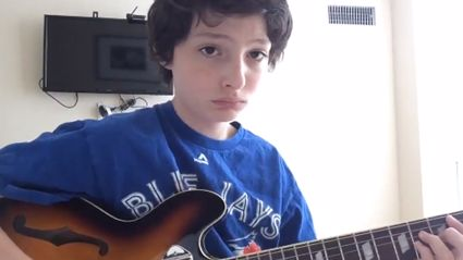 """Watch Mike Wheeler From 'Stranger Things' Cover Nirvana's """"Lithium"""""""