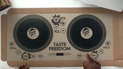 Pizza Hut Has Created A Playable DJ Pizza Box