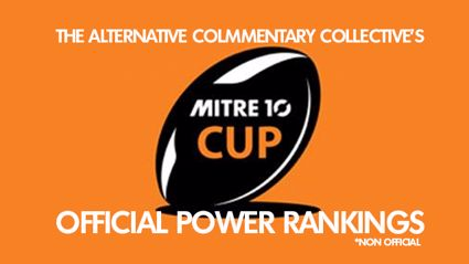 The ACC's Mitre 10 Cup Round Two Power Rankings