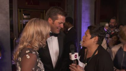 Anika Moa Vs Richie McCaw At The Premiere Of 'Chasing Great'