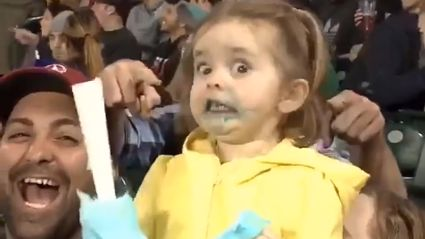 Little Girl's Reaction To Sugar