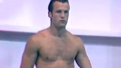 Throwback To When Jason Statham Was Diving At The 1990 Commonwealth Games In Auckland