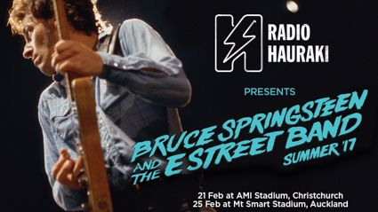 Radio Hauraki Presents Bruce Springsteen And The E Street Band Live In NZ