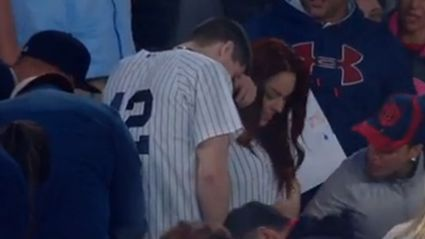 Dude Tries To Propose To His Girlfriend At Baseball Game But Loses The Ring On Live TV