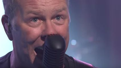 """Watch Metallica Play """"Moth Into Flame"""" Live On Jimmy Fallon"""