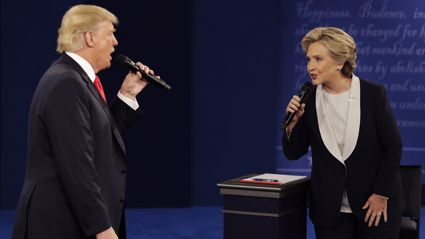 The Presidential Debate Set To 'Time Of My Life' Is F*CKING AMAZING!