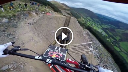 Insane POV Ride With Downhill Rider Dan Atherton