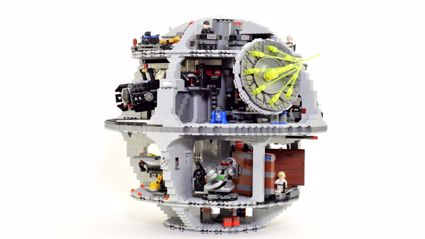 Awesome Lego Death Star Stopmotion