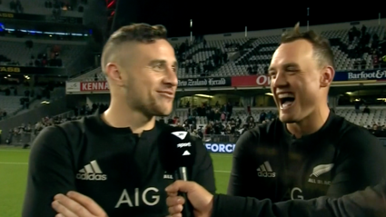 TJ Perenara Drops F-Bombs In A Hilarious Post Match Interview With Israel Dagg