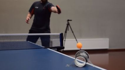 Check Out This INSANE Collection Of Ping Pong Trick Shots