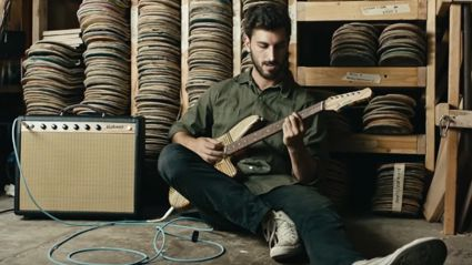 Meet The Guy Who Makes Guitars Out Of Old Skateboards
