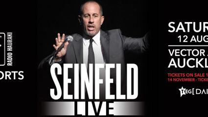 Radio Hauraki Presents Seinfeld Live