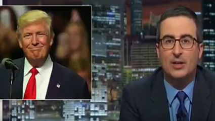 John Oliver Apologizes For The Joke Gone Horribly Wrong - The Trump Candidacy
