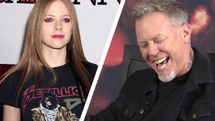 James Hetfield Gives His Thoughts On Celebrities Wearing Metallica T-Shirts