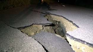Photos Of The Damage Around NZ From The 7.5 Earthquake