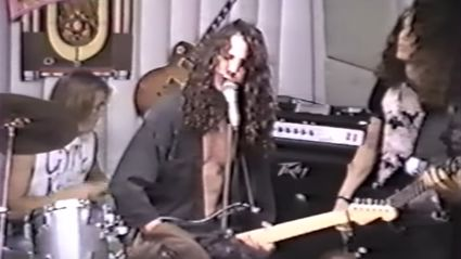 Watch Footage Soundgarden Playing In A Record Store In 1989